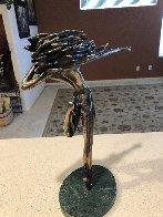 Raindancer Bronze Sculpture 1984 14 in Sculpture by Tom and Bob Bennett - 2
