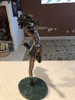 More Dancing Bronze Sculpture 1991 14 in Sculpture by Tom and Bob Bennett - 7