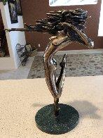More Dancing Bronze Sculpture 1991 14 in Sculpture by Tom and Bob Bennett - 5