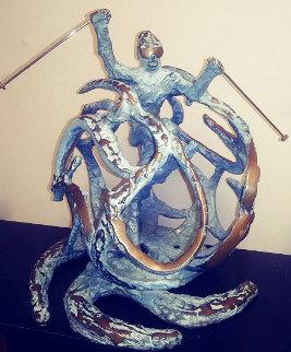 Snowbird Bronze Sculpture 13 in Sculpture - Tom and Bob Bennett