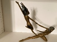 Counterpoise Bronze Sculpture 1985 16 in Sculpture by Tom and Bob Bennett - 4