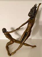 Counterpoise Bronze Sculpture 1985 16 in Sculpture by Tom and Bob Bennett - 2