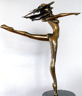 Free Spirit Bronze Sculpture 1985 30 in Sculpture - Tom and Bob Bennett
