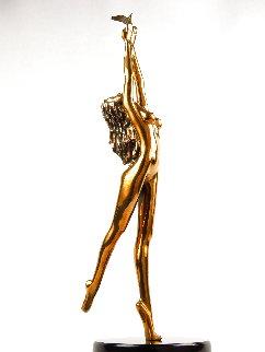 Dream Catcher Bronze Sculpture 1996 18 in Sculpture - Tom and Bob Bennett