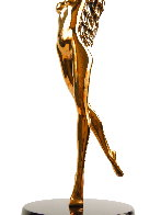 Dream Catcher Bronze Sculpture 1996 18 in Sculpture by Tom and Bob Bennett - 5
