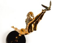 Dream Catcher Bronze Sculpture 1996 18 in Sculpture by Tom and Bob Bennett - 8