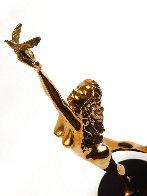 Dream Catcher Bronze Sculpture 1996 18 in Sculpture by Tom and Bob Bennett - 9