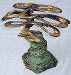 Pebble Beach Bronze Sculpture Sculpture - Tom and Bob Bennett