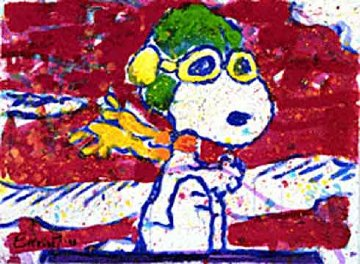 Low Fat Meal Over Santa Monica Limited Edition Print by Tom Everhart
