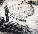 Espresso Lane  Original Painting - Tom Everhart