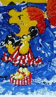 1-800 My Hair is Pulled Too Tight 40x25  Huge  Limited Edition Print by Tom Everhart - 0