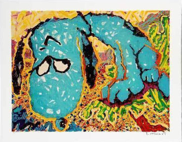 Hollywood Hound Dog 2003 Limited Edition Print - Tom Everhart