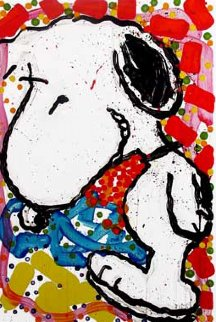 Hip Hop Hound Limited Edition Print by Tom Everhart