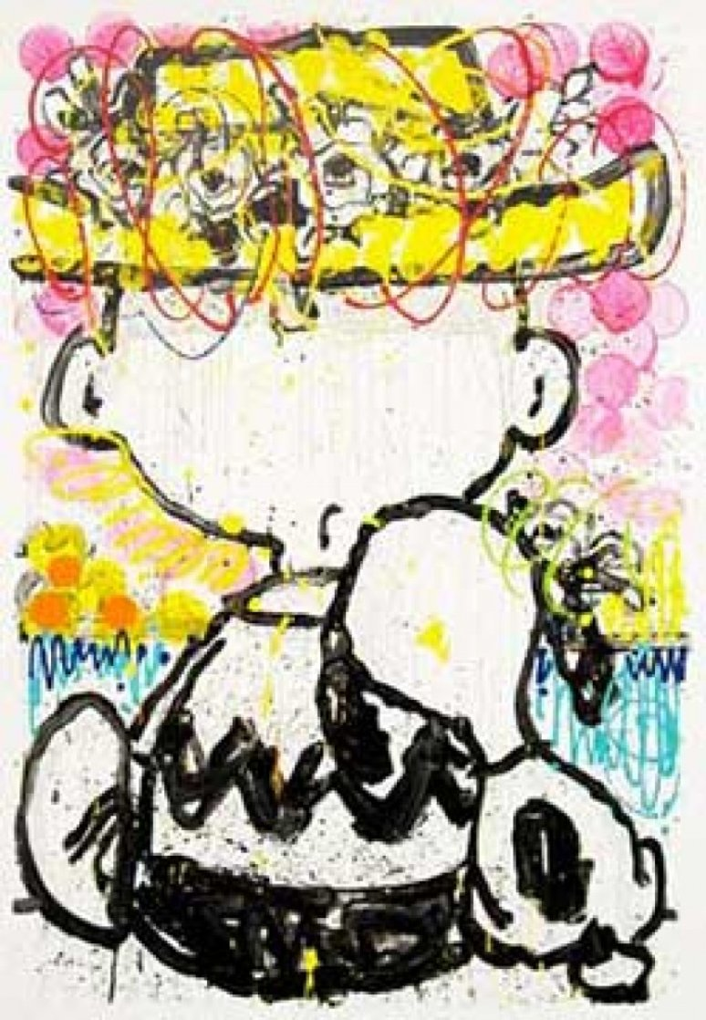 Mon Ami 2007 Limited Edition Print by Tom Everhart