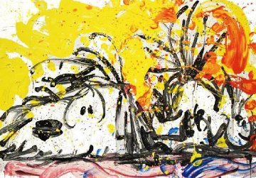 Blow Dry 2000 Limited Edition Print - Tom Everhart