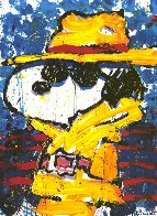 Undercover in Beverly Hills 1995 Limited Edition Print by Tom Everhart - 0