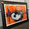 A Guy in a Sharkskin Suit Wearing a Rhinestone Hat at Twilight 2000 Limited Edition Print by Tom Everhart - 1