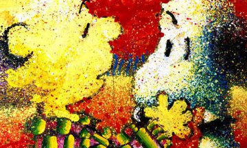 Dog Breath 2006 Limited Edition Print by Tom Everhart