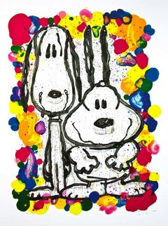 Wait Watchers 27x36 2000 Limited Edition Print - Tom Everhart