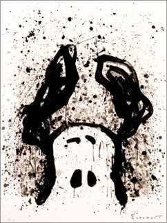 Watch Dog 12 O'Clock 2003 Limited Edition Print by Tom Everhart