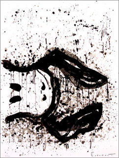 Watch Dog 3 O'Clock 2003 Limited Edition Print by Tom Everhart