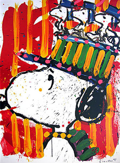Why I Don't Wear Hats Limited Edition Print by Tom Everhart