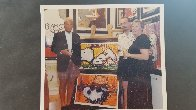 A Guy in a Sharkskin Suit Wearing a Rhinestone Hat At Twilight 2000 Limited Edition Print by Tom Everhart - 6