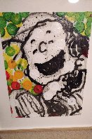 Fifty Ways to Laugh 2002 30x22 Original Painting by Tom Everhart - 8