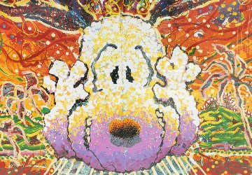 Nobody Barks in L.A. 1999 Limited Edition Print - Tom Everhart