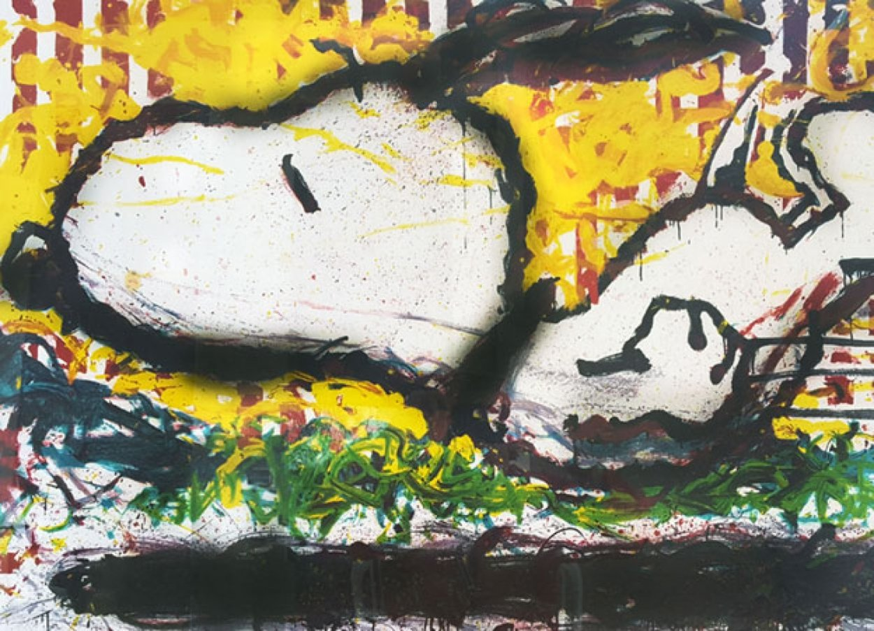 As the Sun Sets Slowly in the West, We Bid You a Fond Farewell 2000 Limited Edition Print by Tom Everhart