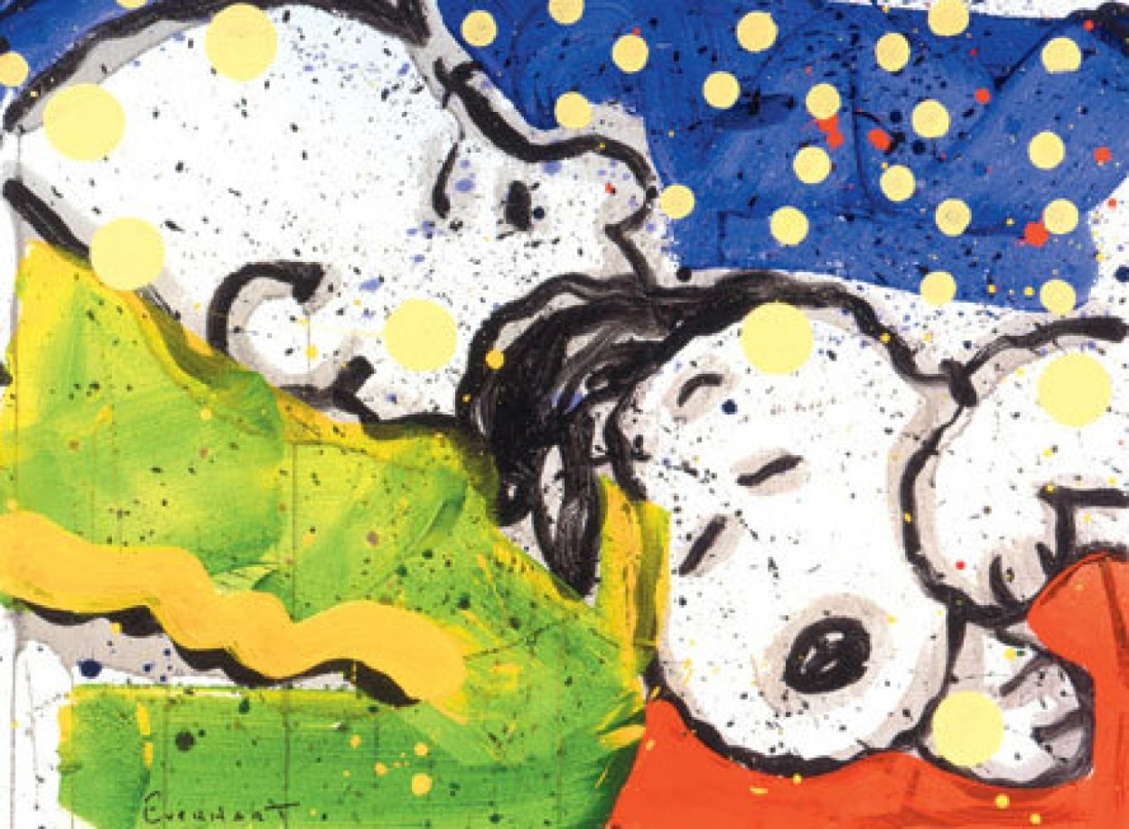 Boring Snoring 1999 Limited Edition Print by Tom Everhart