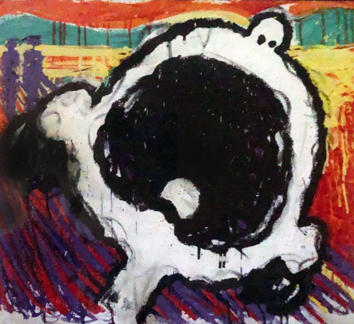 Lucy's Scream 1995 Limited Edition Print by Tom Everhart