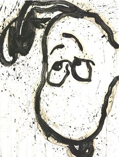 I Can't Believe My Ears, Darling 2002 38x29 Super Huge  Limited Edition Print - Tom Everhart