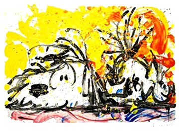 Blow Dry Limited Edition Print by Tom Everhart