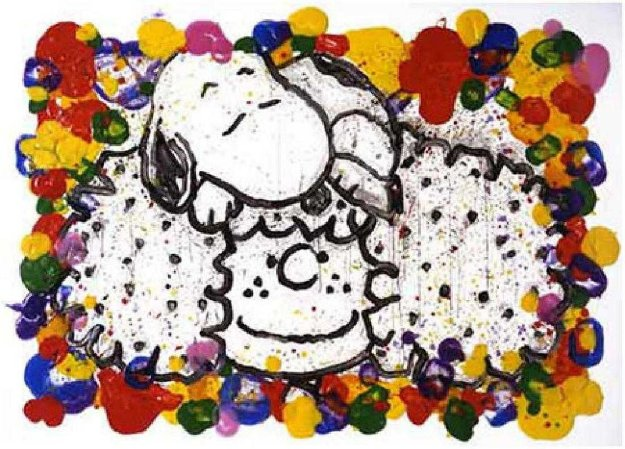 Why I Like Big Hair 2000 Limited Edition Print by Tom Everhart