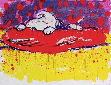 Pig Out Limited Edition Print - Tom Everhart
