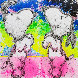 Performance Art Limited Edition Print by Tom Everhart - 0