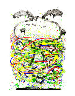Little Fancy Green AP Limited Edition Print - Tom Everhart