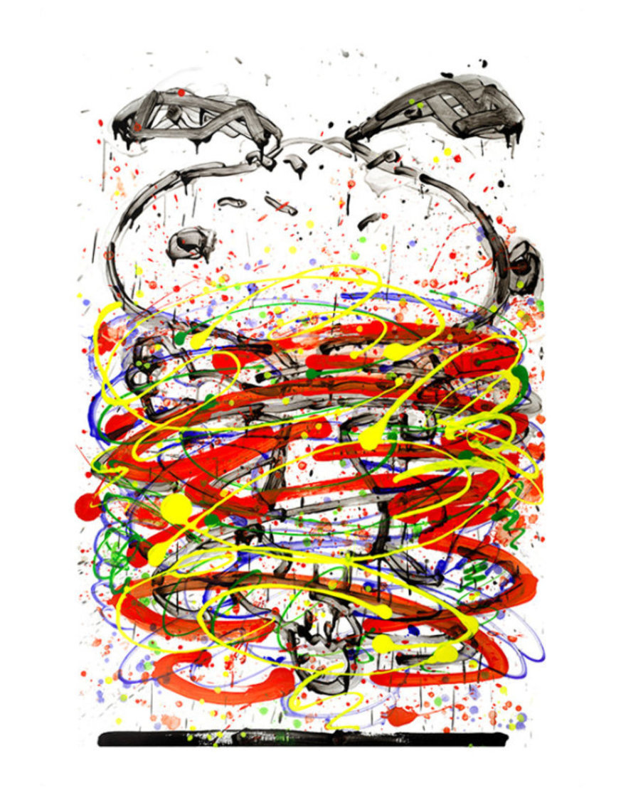 Little Fancy Red AP Limited Edition Print by Tom Everhart