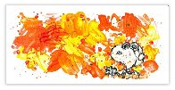 Partly Cloudy 7:30 Morning Fly 2018 Limited Edition Print by Tom Everhart - 1