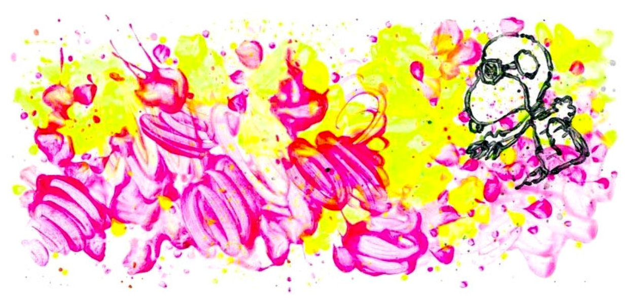 Partly Cloudy 6:45 Morning Fly 2018 Limited Edition Print by Tom Everhart