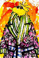 Shorty Wearing Jim Dine Limited Edition Print by Tom Everhart - 0