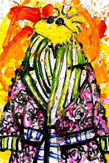 Shorty Wearing Jim Dine Limited Edition Print - Tom Everhart