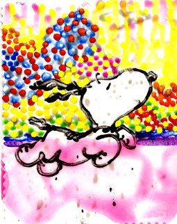 Dogg E Paddle XIX Limited Edition Print by Tom Everhart