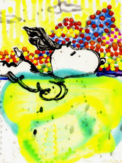 Dogg E Paddle XVI Limited Edition Print by Tom Everhart
