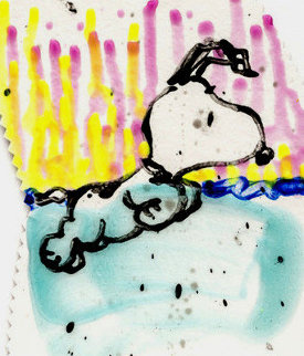 Dogg E Paddle XX Limited Edition Print by Tom Everhart