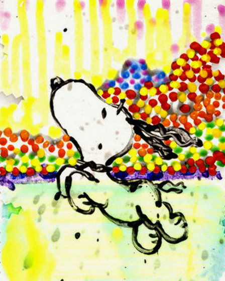 Dogg E Paddle XXV AP Limited Edition Print by Tom Everhart