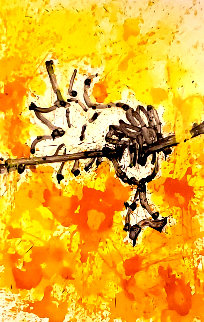 Mr Big Stuff Dreams (Andy Warhol): Homie Dreams Suite 2012 Limited Edition Print by Tom Everhart