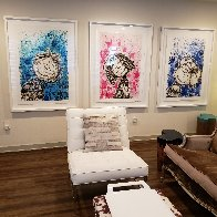 Hipster Dog Dreams (Philip Guston): Homie Dreams Suite 2012 Limited Edition Print by Tom Everhart - 5