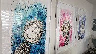 Hipster Dog Dreams (Philip Guston): Homie Dreams Suite 2012 Limited Edition Print by Tom Everhart - 4